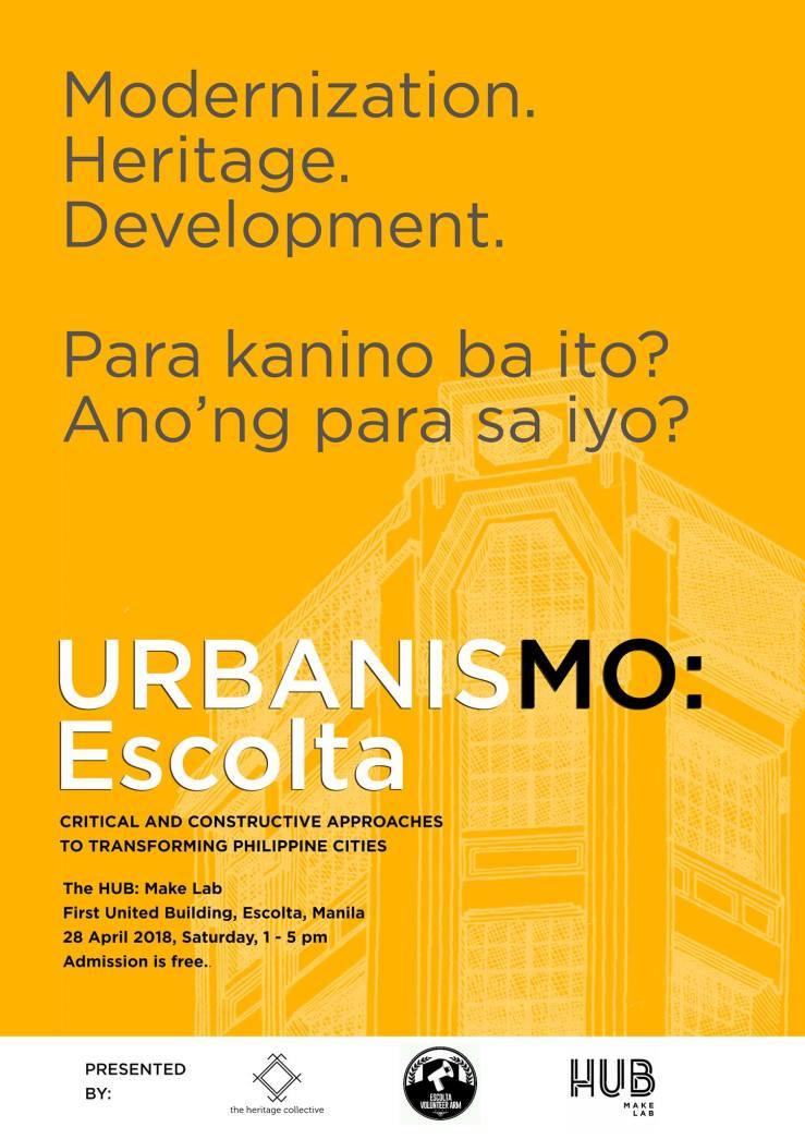 UrbanisMO Escolta Poster